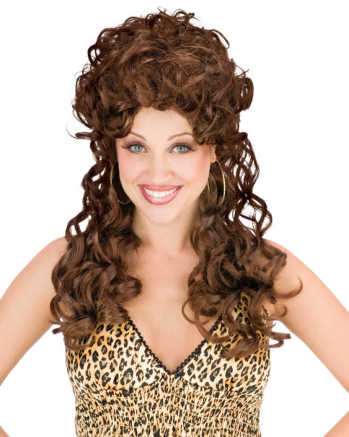 Trailer Park Trophy Wife Dark Brown Wig