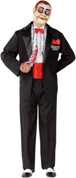 Demented Dummy Ventriloquist Adult Costume